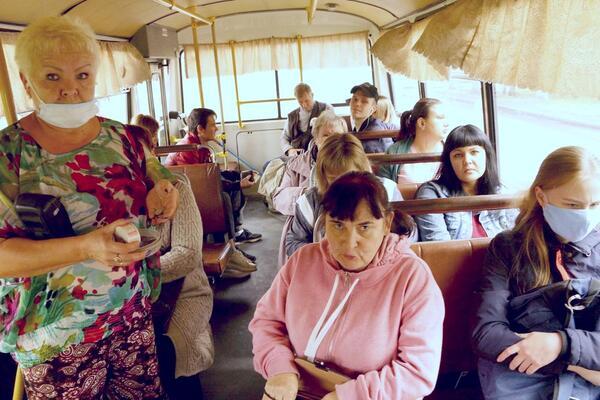 В Новокузнецке уничтожается пассажирский автотранспорт